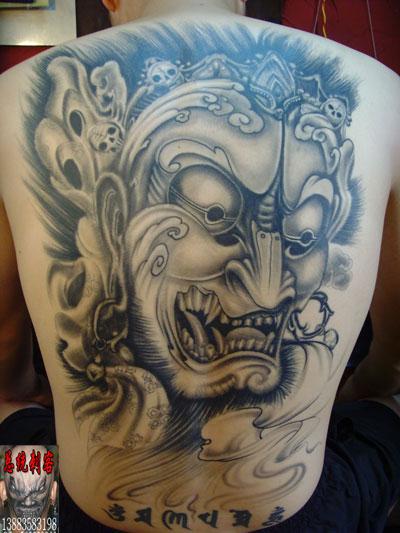 黑白作品 永川纹身之满背般若 图片数量: 1张 浏览次数: 1174 创建