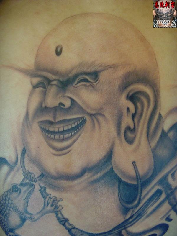 弥勒佛纹身